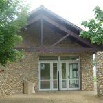 Salle d'activités - Vue de l'extérieur